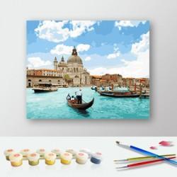 Pintura digital  al óleo  Venecia - magnífica