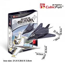 F-117 Nighthawk&F/A-18 Hornet