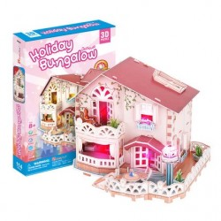 Holiday Bungalow Dollhouse
