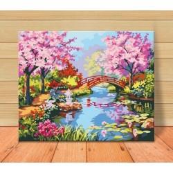 Pintura digital  al óleo  Jiangnan Spring